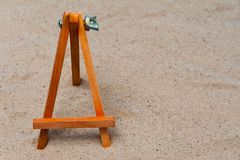 Empty easel Royalty Free Stock Images