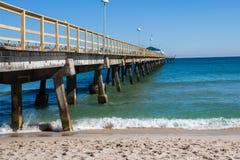 Empty East Coast Shore Beach Royalty Free Stock Photography