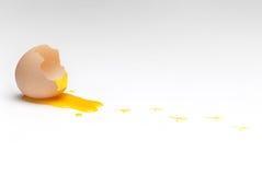 Empty egg shell easter Stock Image