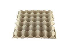 Empty egg carton. Royalty Free Stock Photography