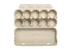 Empty egg carton Royalty Free Stock Image