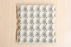 Empty egg panel Royalty Free Stock Image