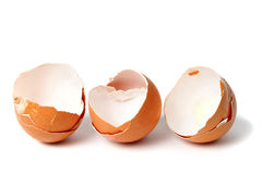 Empty egg shells Royalty Free Stock Photos