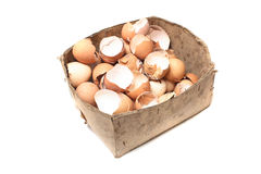 Empty eggs Royalty Free Stock Photography