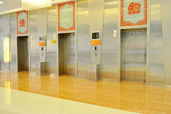 Empty elevator hall Stock Photography