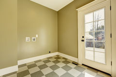 Empty entrance hallway with tile floor Stock Photography
