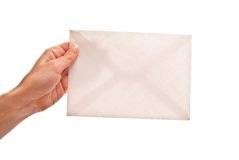 Empty Envelope Royalty Free Stock Photos