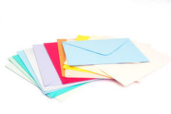 Empty envelopes Stock Photo