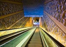 Empty escalator Royalty Free Stock Images