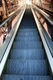 Empty escalator Stock Photo