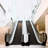 Empty escalator Royalty Free Stock Image