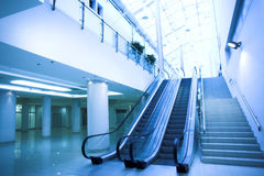 Empty escalator Royalty Free Stock Photography