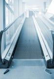 Empty escalator. Stock Image