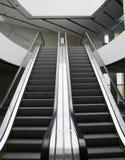 Empty escalator Stock Images