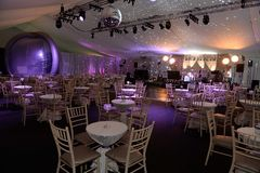 Empty event hall royalty free stock photo