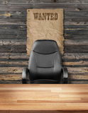 Empty executive chair job opportunity concept Royalty Free Stock Images