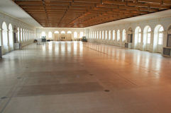 Empty exhibition hall. Moscow city Stock Images