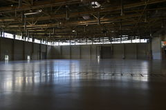 Empty exhibition hall Stock Photos