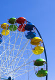 Empty Ferris wheel. Ferris wheel  in the park solar day Stock Image
