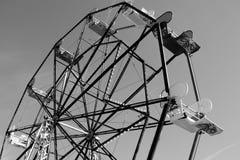 Empty Ferris Wheel. A photo of an unused ferris wheel Royalty Free Stock Photography