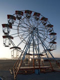Empty ferris wheel Royalty Free Stock Photography