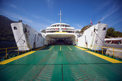 Empty ferryboat entrance Royalty Free Stock Images