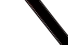 Empty film strip Royalty Free Stock Photography
