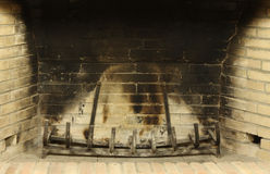 Empty Fireplace Royalty Free Stock Photo