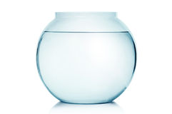 Empty fish bowl royalty free stock images