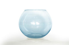 Empty fish bowl Stock Images