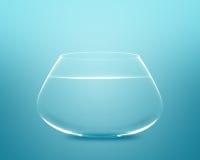 Empty fishbowl Royalty Free Stock Photos