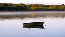Empty Fishing Boat Royalty Free Stock Photo