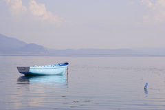 Empty fishing boat Royalty Free Stock Image