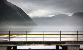 Empty fjord Royalty Free Stock Image