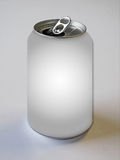 Empty Flip Top Can. A manipulated photo of an empty flip top aluminum can royalty free stock photos