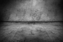 Floor and wall. Empty floor and blank wall Stock Photography