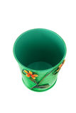 Empty Flower pot Stock Photo
