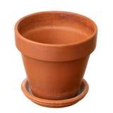 Empty flowerpot Stock Images