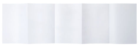 Empty folded paper Royalty Free Stock Photo