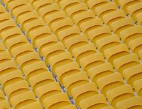Empty Folded Spectator Seats Royalty Free Stock Photo