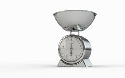 An empty food scale Royalty Free Stock Photo