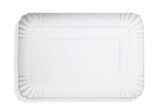 Empty food tray Royalty Free Stock Photography
