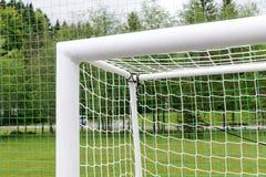 Empty football goal Royalty Free Stock Image
