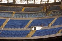 Empty football stadium Royalty Free Stock Images