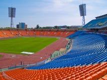 Empty football stadium royalty free stock image