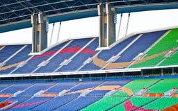 Empty Football Stadium. Royalty Free Stock Photo
