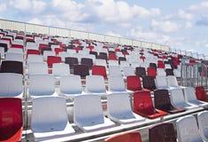 Empty Formula Racing Arena Seats Stock Photos