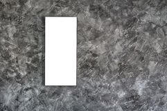 Empty frame on concrete wall Stock Photos