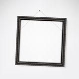 Empty frame crooked Stock Images