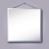 Empty frame hanging Stock Photo